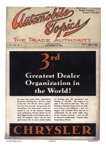 Auto Topics | 1931 Dec 05