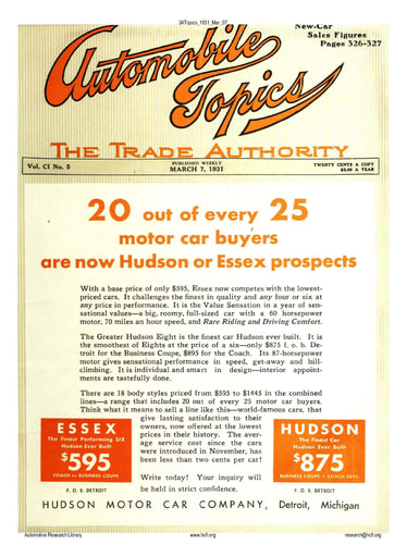 Auto Topics | 1931 Mar 07
