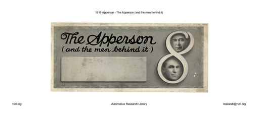 1916 Apperson   The Apperson (and the men behind it) (5pgs)