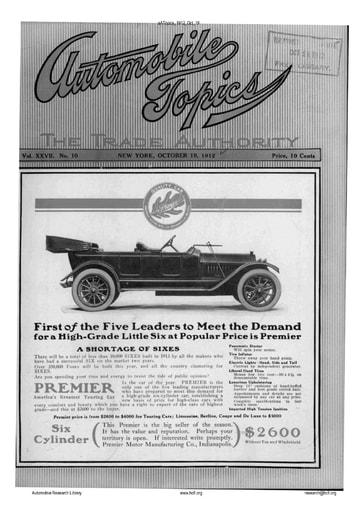 Auto Topics | 1912 Oct 19
