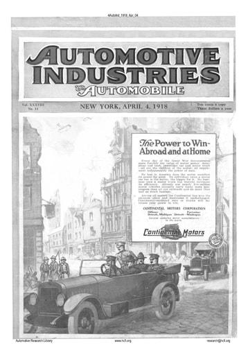 Auto Industries 1918 04 04