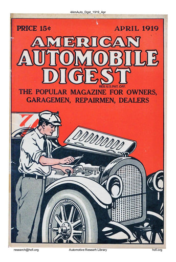 American Automobile Digest - 1919 April
