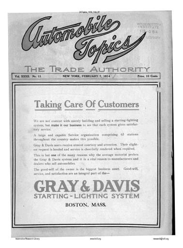 Auto Topics | 1914 Feb 07