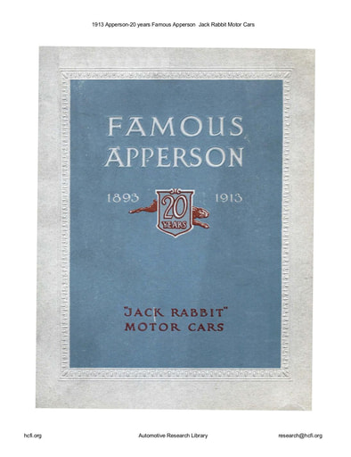 1913 Apperson   20 years (41pgs)
