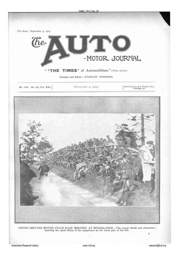 Auto Motor Journal | 1915 Sep 09