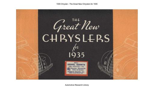 1935 Chrysler (38pgs)