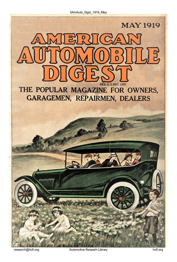 American Automobile Digest - 1919 May