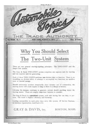 Auto Topics | 1914 Mar 14