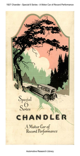 1927 Chandler   Special 6 Series (5pgs)