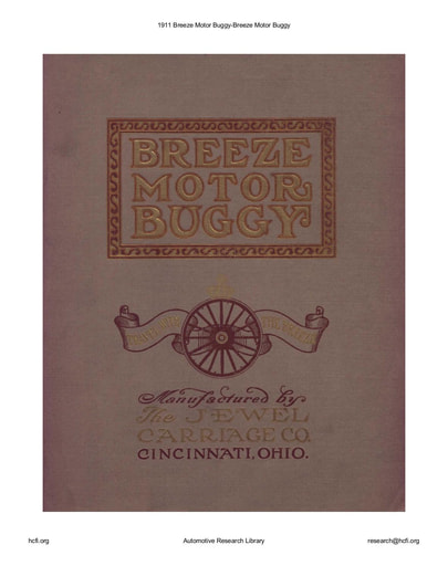 1911 Breeze Motor Buggy (25pgs)