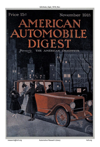 American Automobile Digest - 1918 November