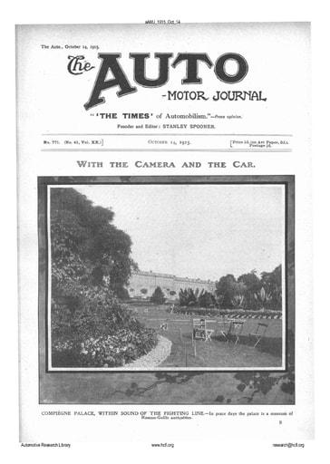 Auto Motor Journal | 1915 Oct 14