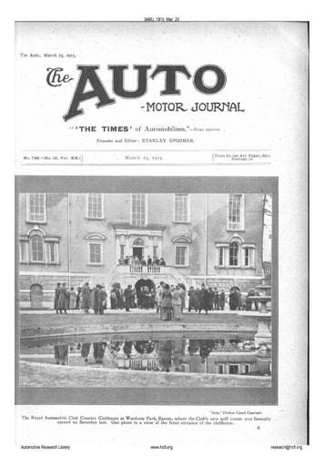 Auto Motor Journal | 1915 Mar 25