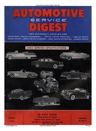 Automotive Service Digest 1953 04 Apr