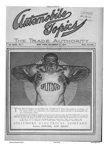 Auto Topics | 1913 Dec 27
