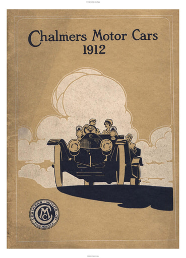 1912 Chalmers Motor Cars (35pgs)