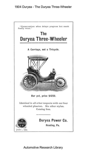 1904 Duryea   The Three Wheeler (28pgs)