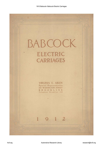 1912 Babcock   Electric Carriages (24pgs)