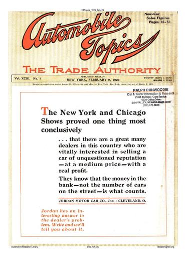 Auto Topics | 1929 Feb 09