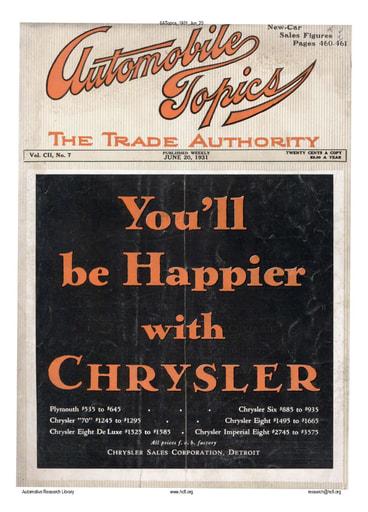 Auto Topics | 1931 Jun 20