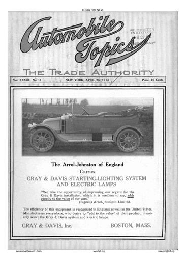 Auto Topics | 1914 Apr 25