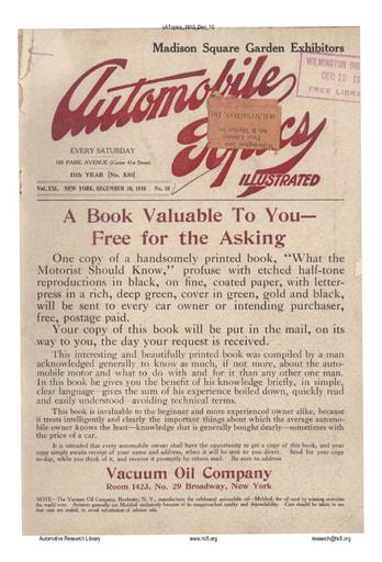 Auto Topics | 1910 Dec 10