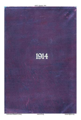 CATJ 1914-13 Special