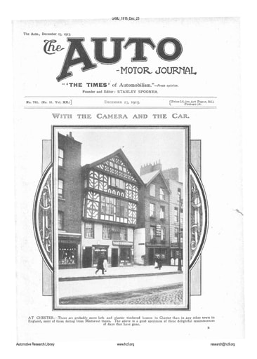 Auto Motor Journal | 1915 Dec 23
