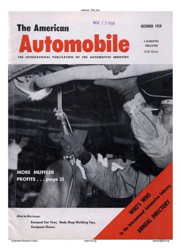 American Automobile   1959 Dec