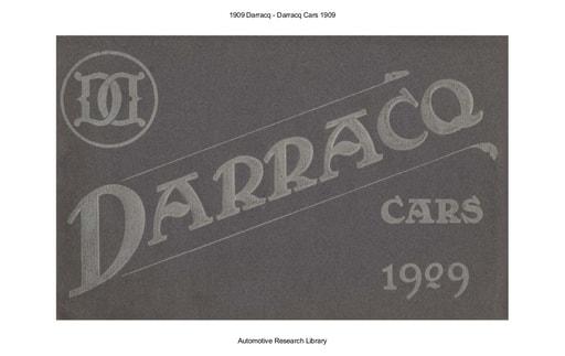 1909 Darracq (29pgs)