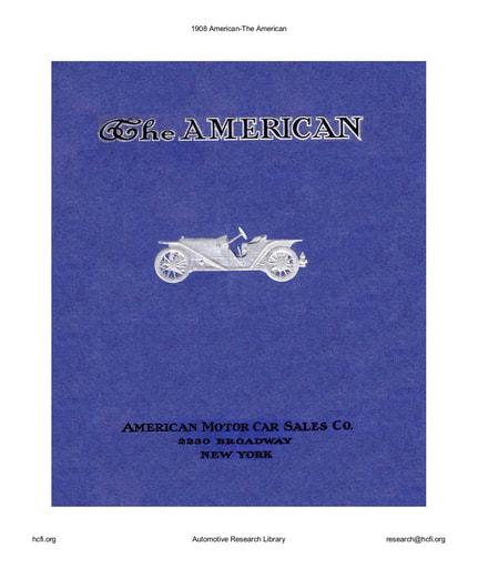 1908 American (24pgs)