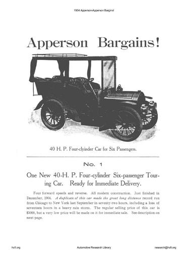 1904 Apperson   Apperson Bargins! (3pgs)