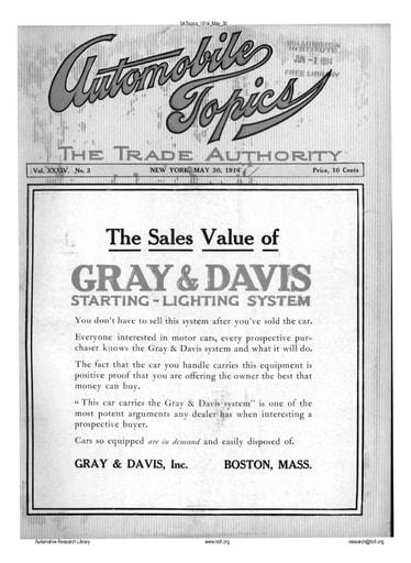 Auto Topics | 1914 May 30