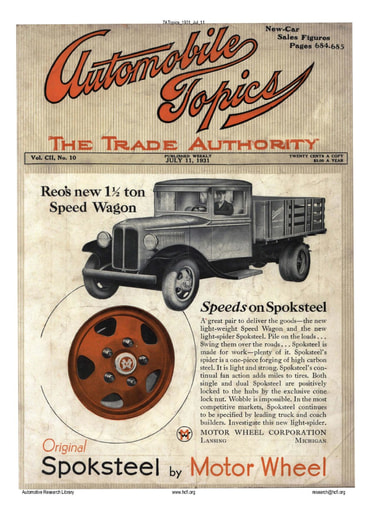 Auto Topics | 1931 Jul 11