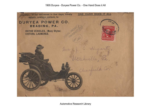 1905 Duryea   One Hand Does it All (75pgs)