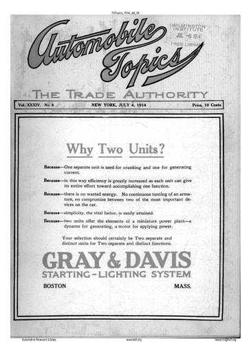 Auto Topics | 1914 Jul 04