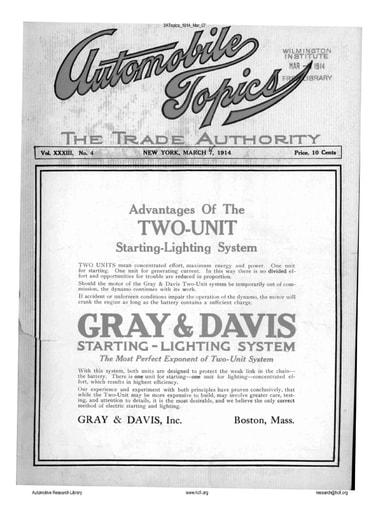 Auto Topics | 1914 Mar 07