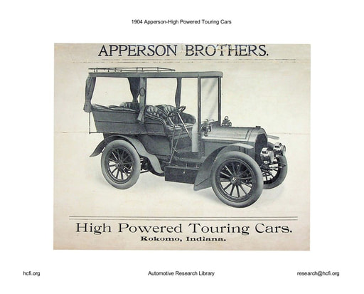 1904 Apperson   High Powered Touring Cars (4pgs)