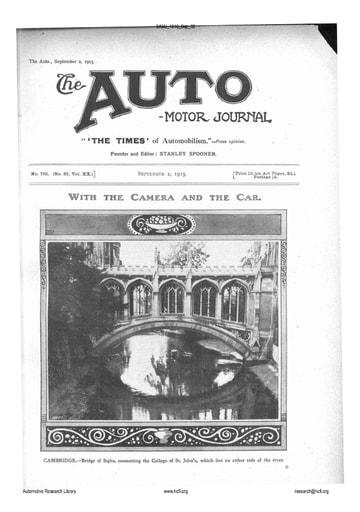 Auto Motor Journal | 1915 Sep 02