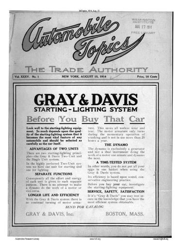 Auto Topics | 1914 Aug 15