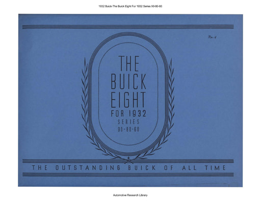 1932 Buick   The Eight Series 90 80 60 (35pgs)