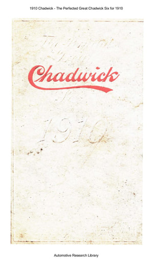 1910 Chadwick   The Perfected Great Six (41pgs)
