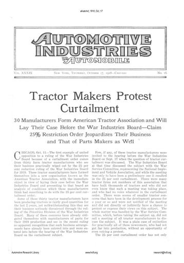 Auto Industries 1918 10 17