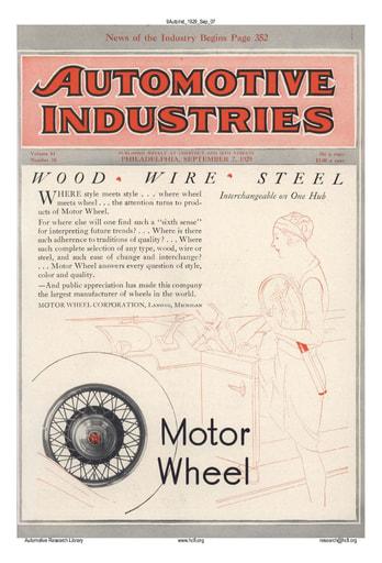 Auto Industries 1929 09 07