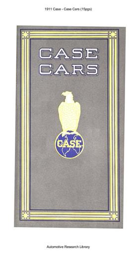 1911 Case   Case Cars (15pgs)