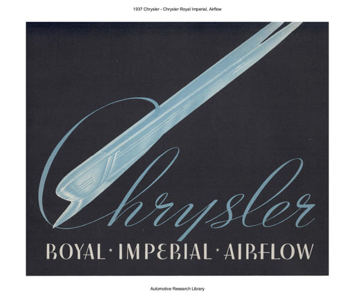1937 Chrysler   Royal Imperial, Airflow (28pgs)