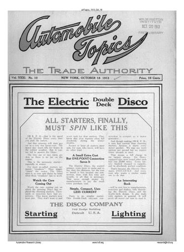 Auto Topics | 1913 Oct 18