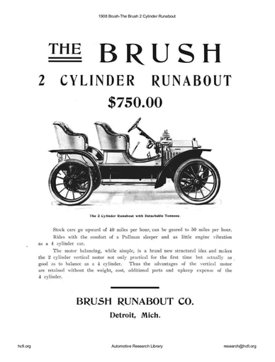 1908 Brush   The 2 Cylinder Runabout (4pgs)