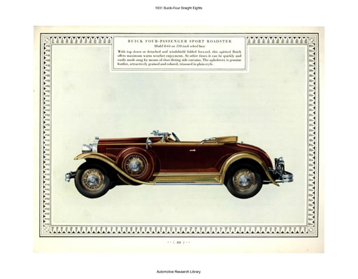1931 Buick   Four Sraight Eights (3pgs)