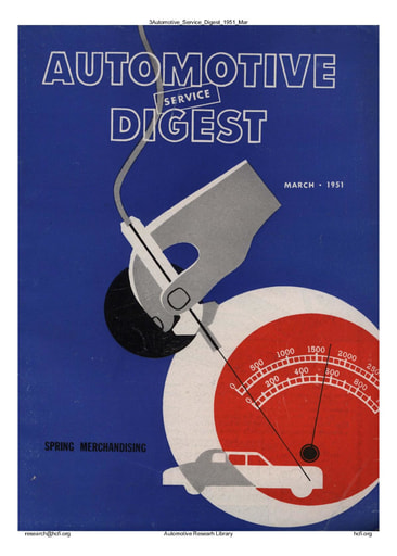 Automotive Service Digest 1951 03 Mar